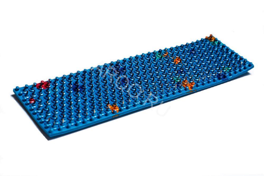 «Спутник» (шаг игл 6,2 мм; размер 60 х 180 мм), аппликатор Ляпко