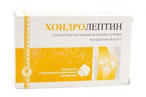 Хондролептин, таблетки, 50 шт